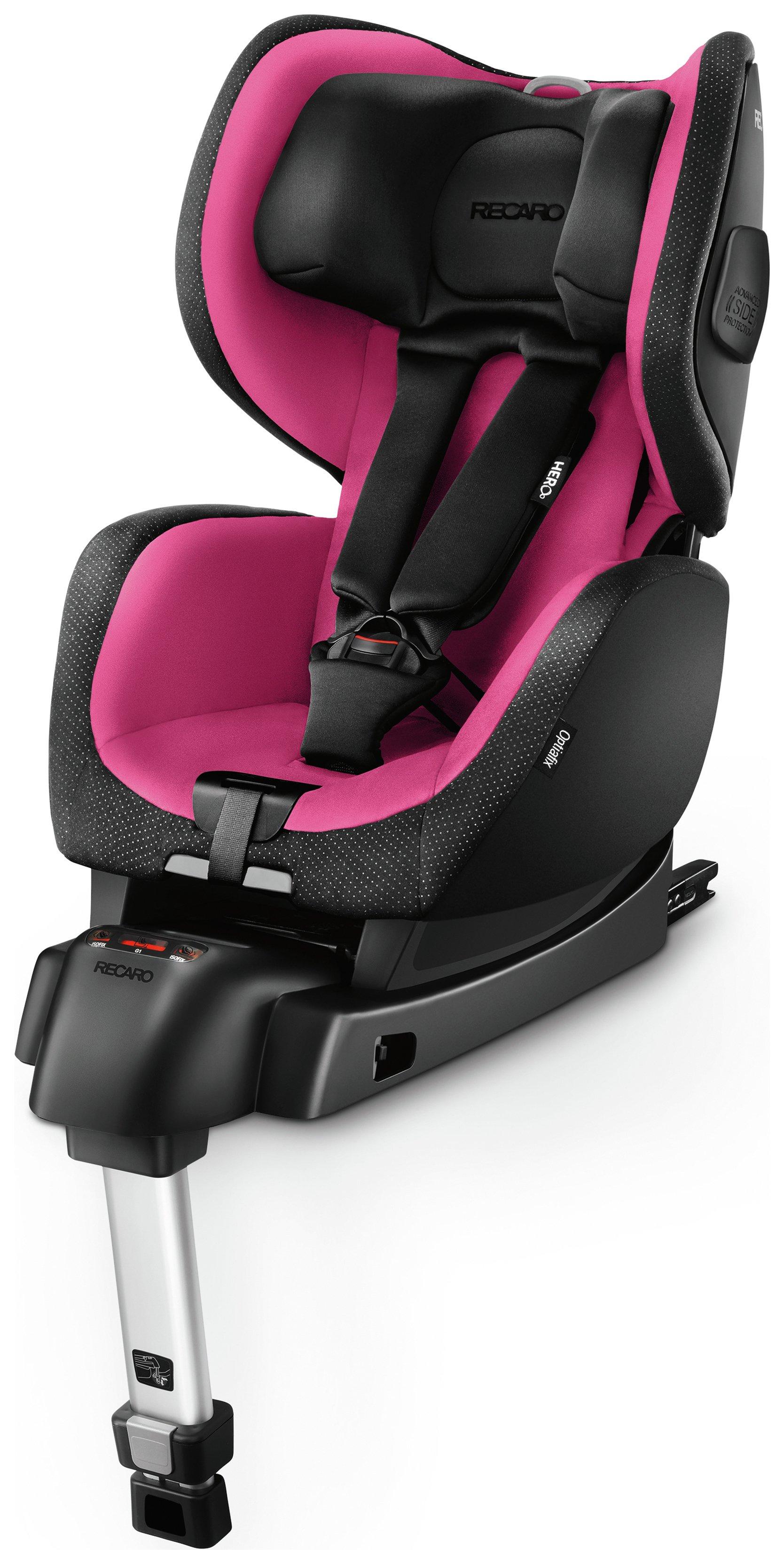 Recaro Optiafix Group 1 Car Seat Pink