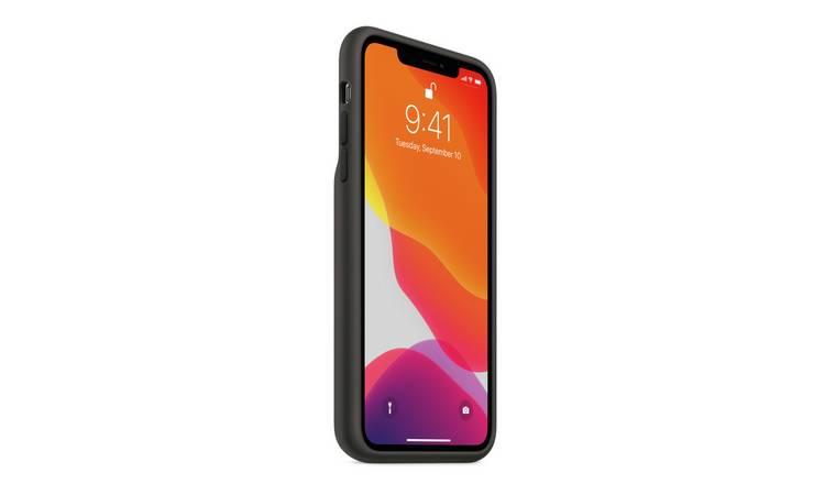 Buy Apple iPhone 11 Pro Max Smart Battery Case Black   Mobile phone cases   Argos