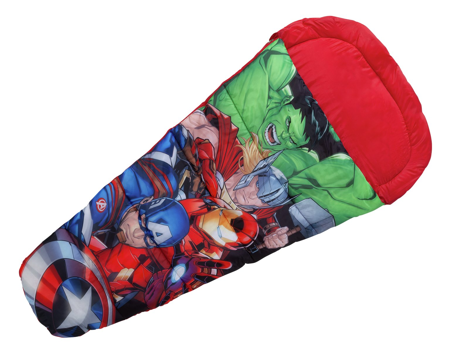 Marvel Superhero 345GSM Kids Sleeping Bag