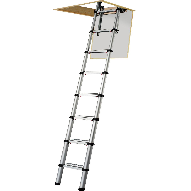 Telescopic loft ladder 3m hand pallet truck hydraulic pump