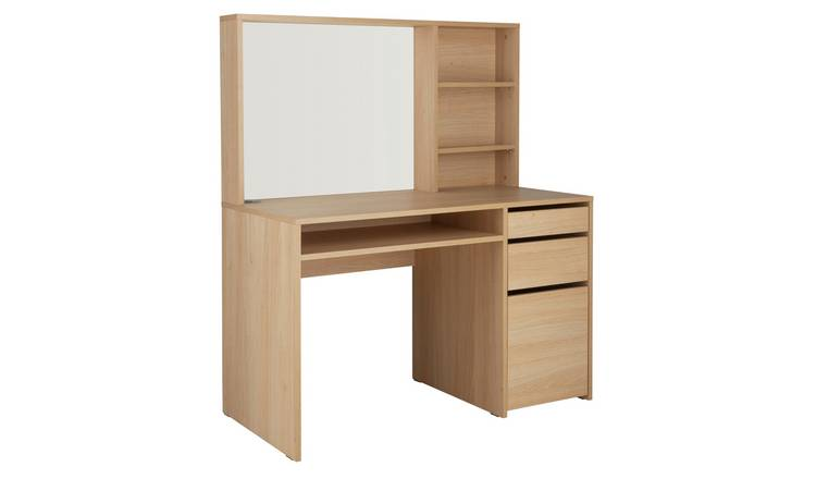 Argos Home Pepper Hutch Desk - Oak Effect