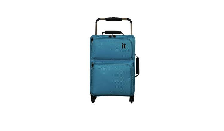 it Luggage World's Lightest 4 Wheel Soft Cabin Suitcase
