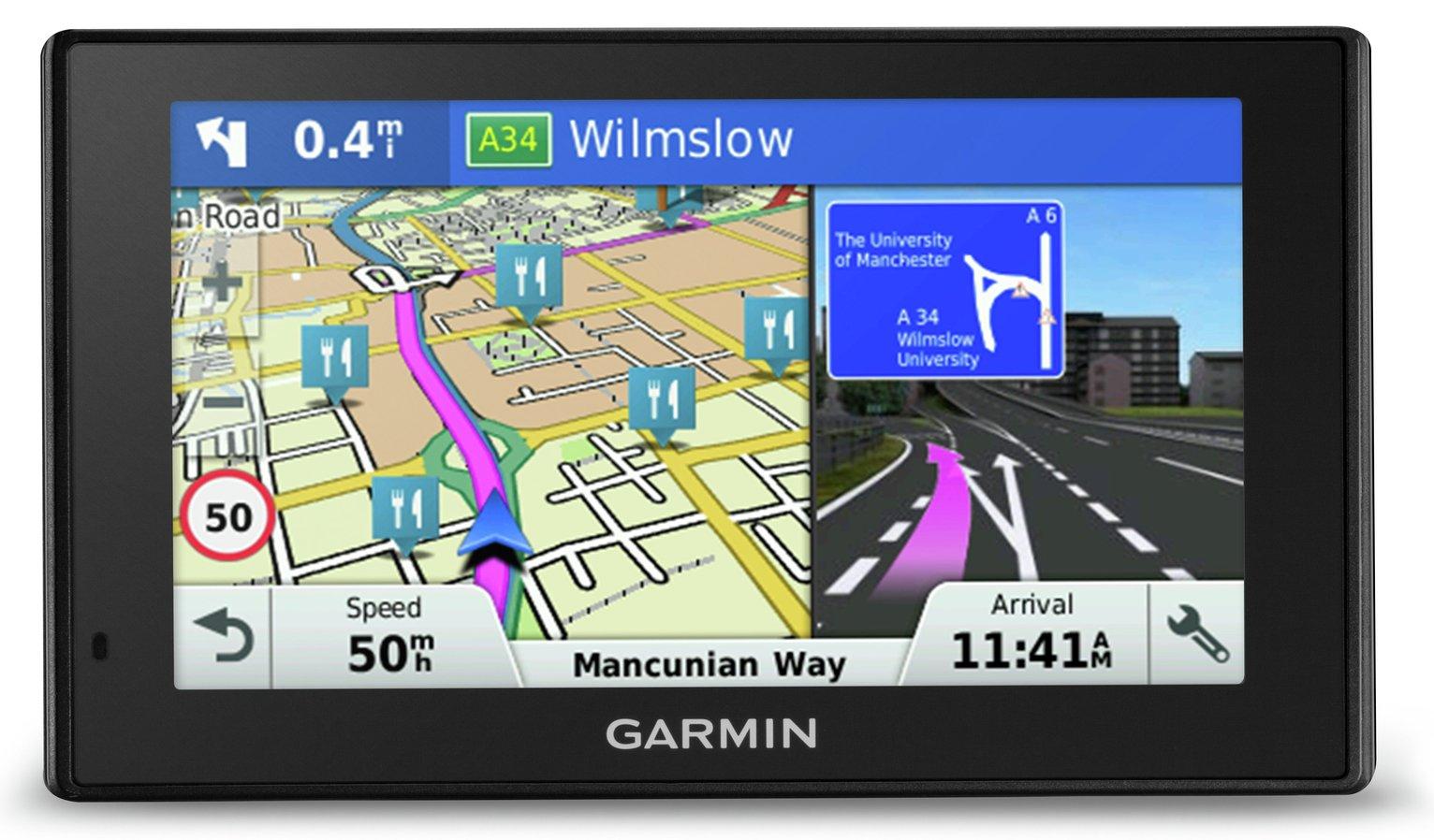 Garmin Drive Plus MT-S 5 Inch UK, ROI & EU Maps Sat Nav