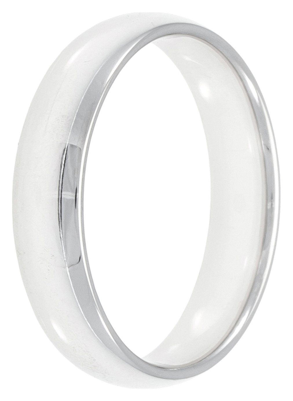 Revere Sterling Silver 5mm Wedding Band - N
