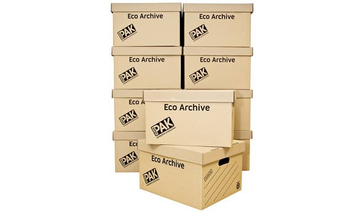 StorePAK Multi-use Archive Storage Boxes - Set of 10