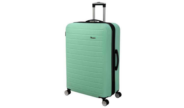 it Luggage Hard 8 Wheel Large Expander Suitcase - Turquoise
