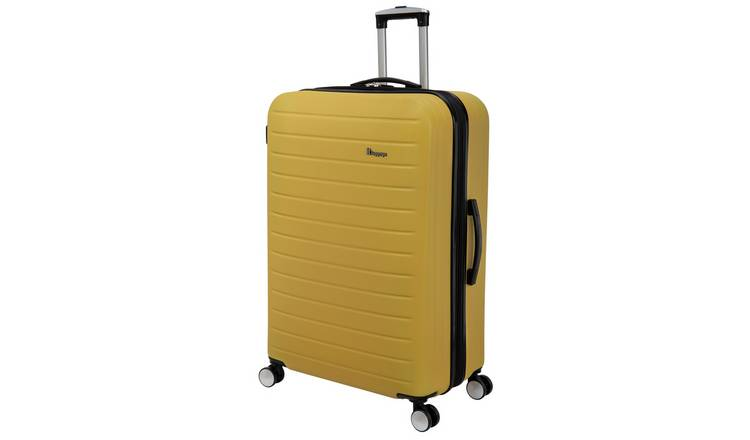 it Luggage Hard 8 Wheel Large Expander Suitcase - Yellow