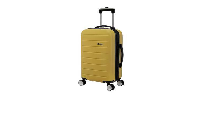it Luggage Hard 8 Wheel Expander Cabin Suitcase - Yellow