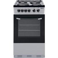 Beko - BS530 Single - Electric Cooker - Silver