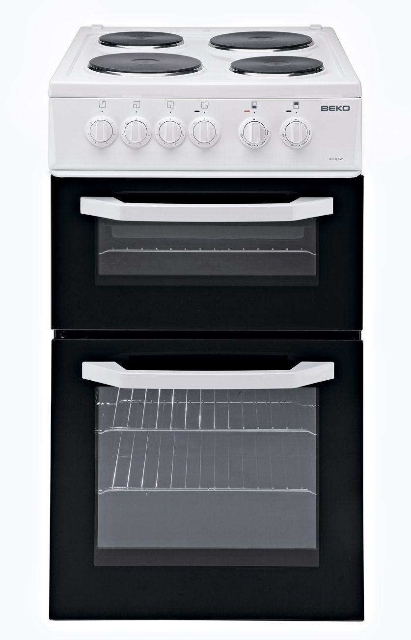 beko bd531a single electric cooker black. Black Bedroom Furniture Sets. Home Design Ideas