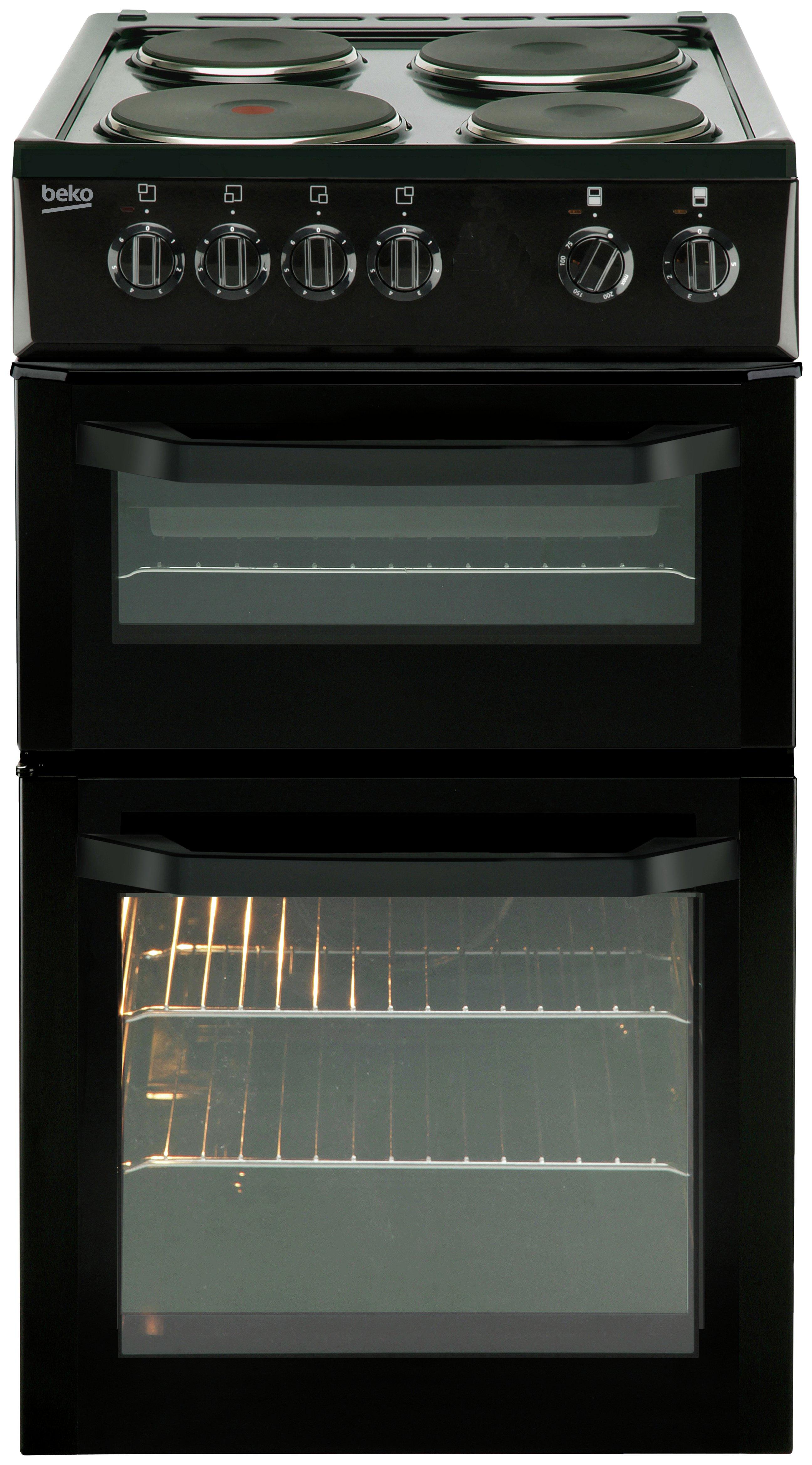 Beko Bd531a Single Electric Cooker Black