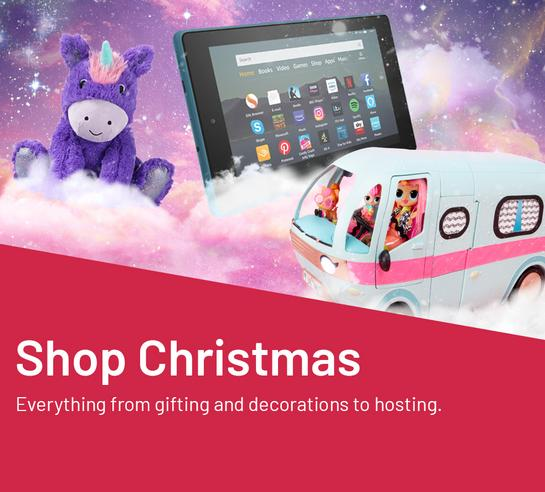 Shop Christmas. For everything from gifting and decorations to hosting.
