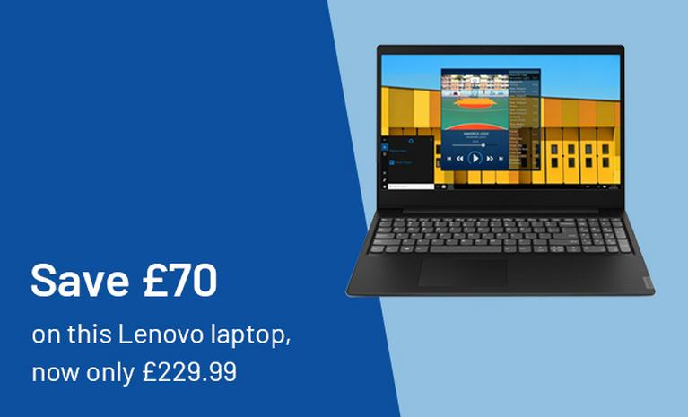 Save £70 on this Lenovo laptop, now only £229.99.