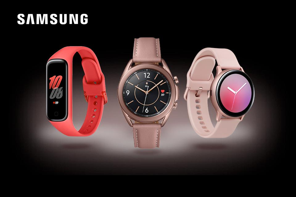 Find the perfect gift, save £100 off these Samsung Galaxy watches.
