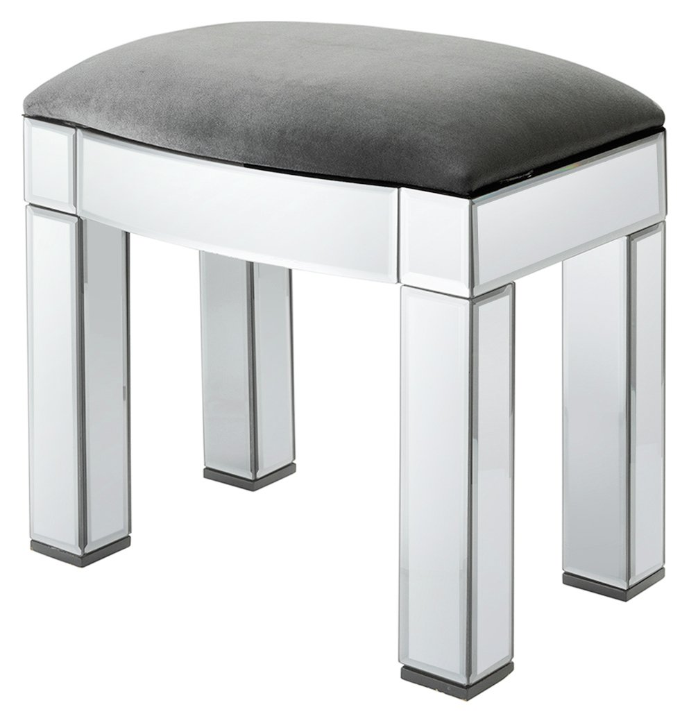 Argos Home Canzano Stool - Mirror