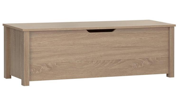 Cool Buy Argos Home Delamare Storage Bench Oak Effect Hallway Storage Argos Pdpeps Interior Chair Design Pdpepsorg