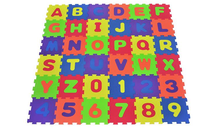 Chad Valley Numbers and Letters Foam Mats 0