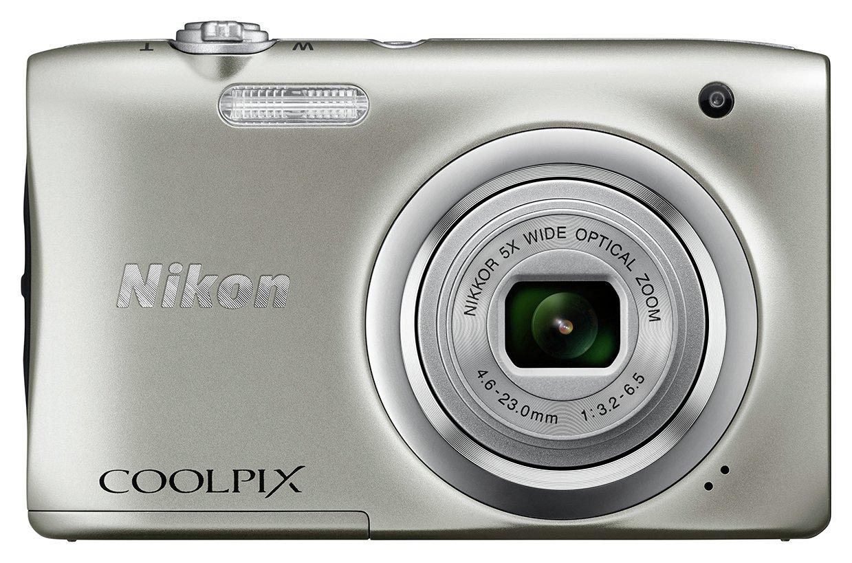 Nikon Nikon Coolpix A100 20MP 5x Zoom Compact Camera - Silver.