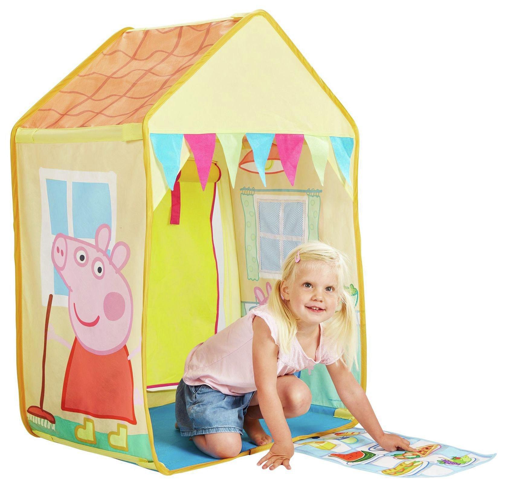 argos peppa pig pop up tent
