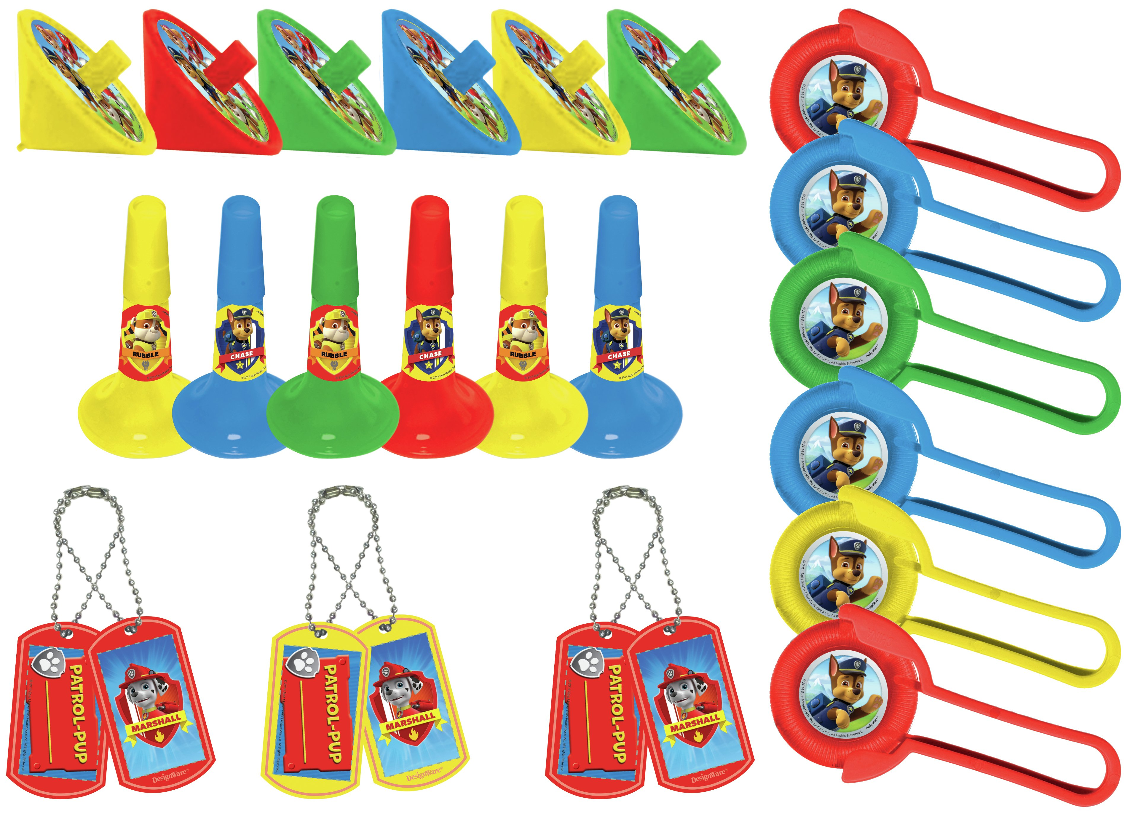 Image of Nickelodeon Paw Patrol 48 Piece Party Favours Pack
