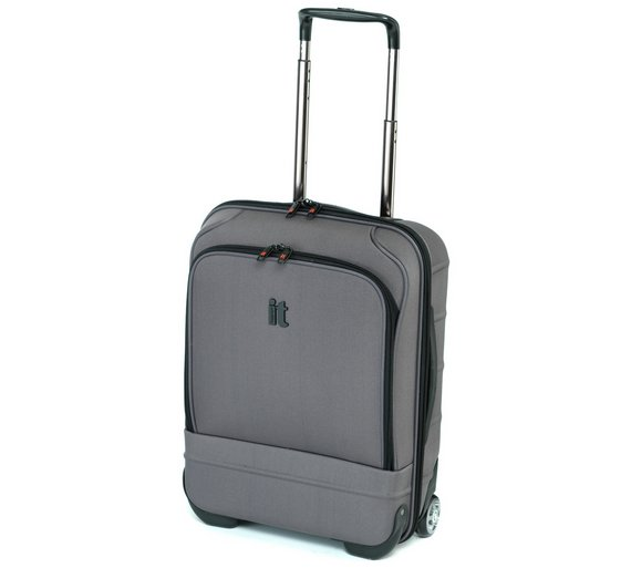 Buy IT Luggage Frameless Cabin Case - Graphite at Argos.co.uk ...