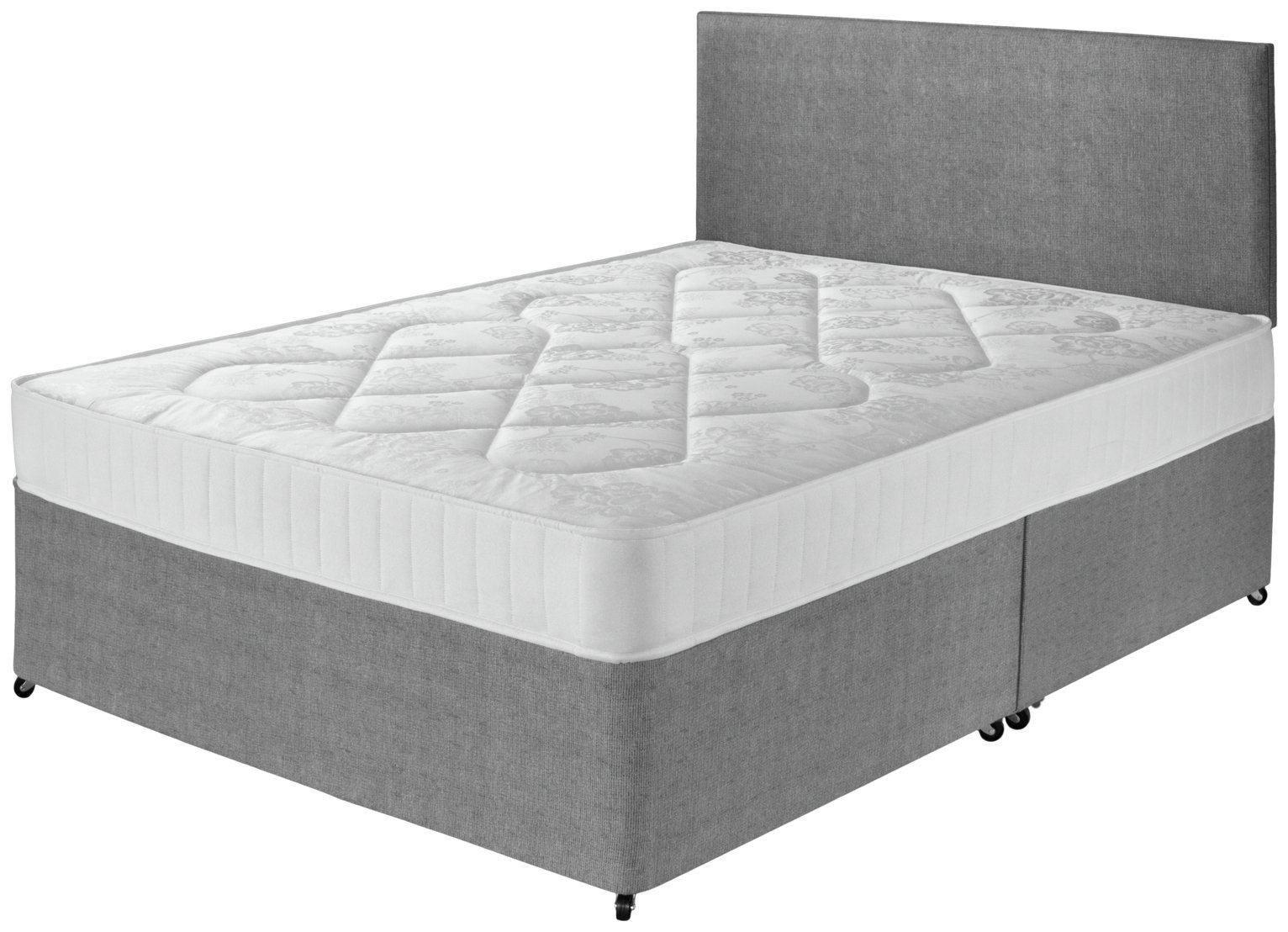 Airspring - Elmdon Comfort Small - Double - Divan Bed