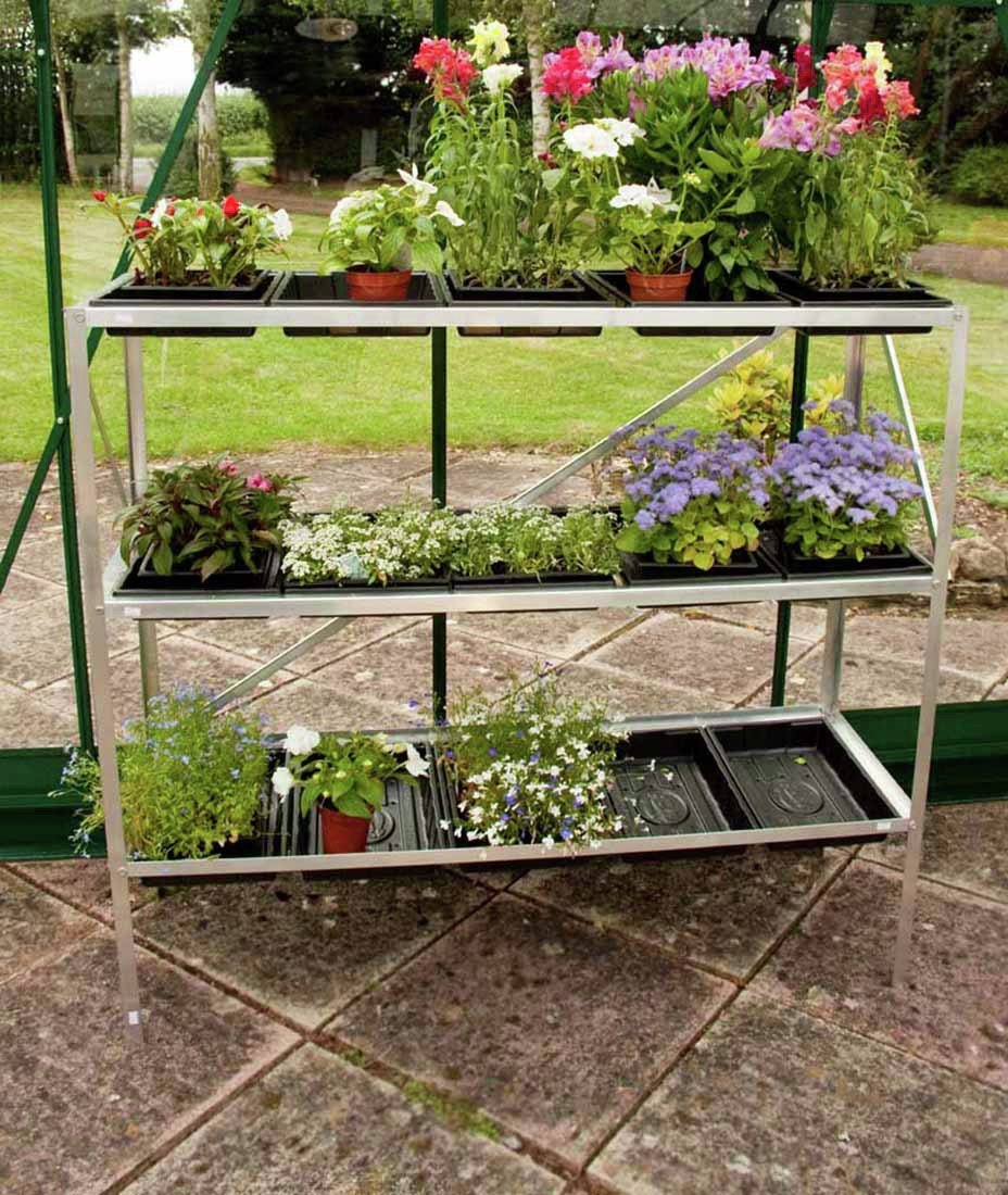 Image of Halls 15 Tray 3 Tier Seed Tray.