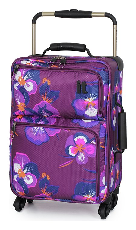 Buy IT World's Lightest Small 4 Wheel Suitcase - Oriental at Argos ...