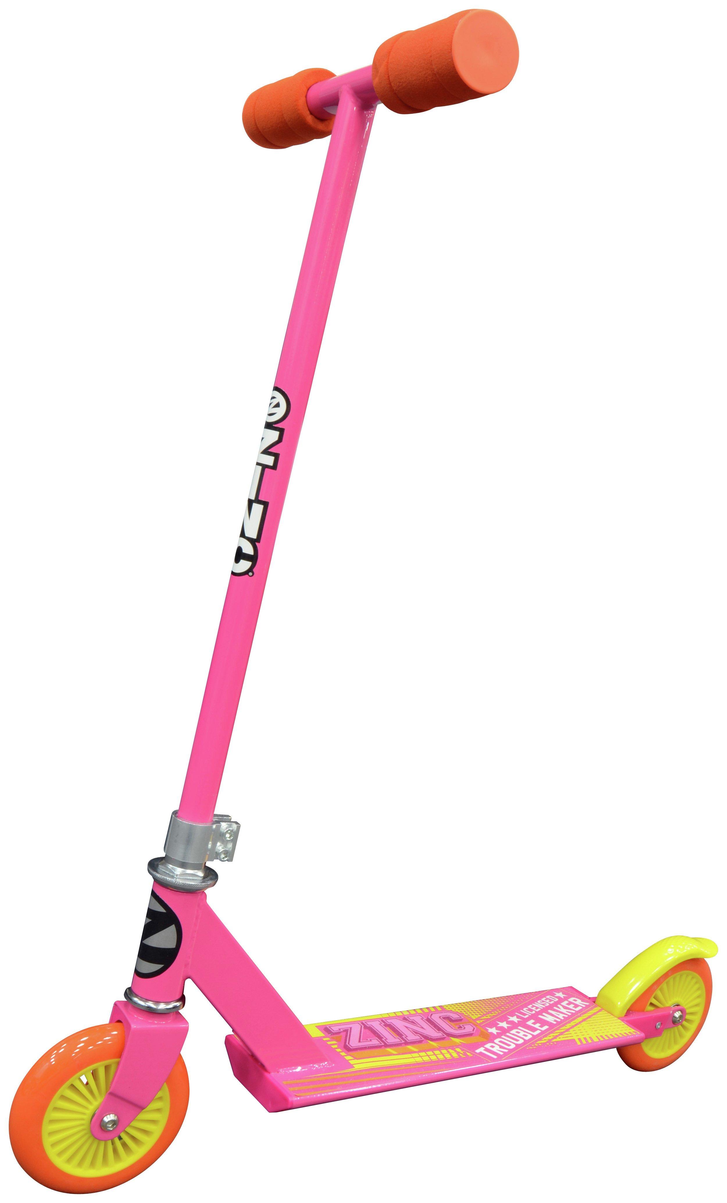 Zinc Pink Non Folding Inline Scooter