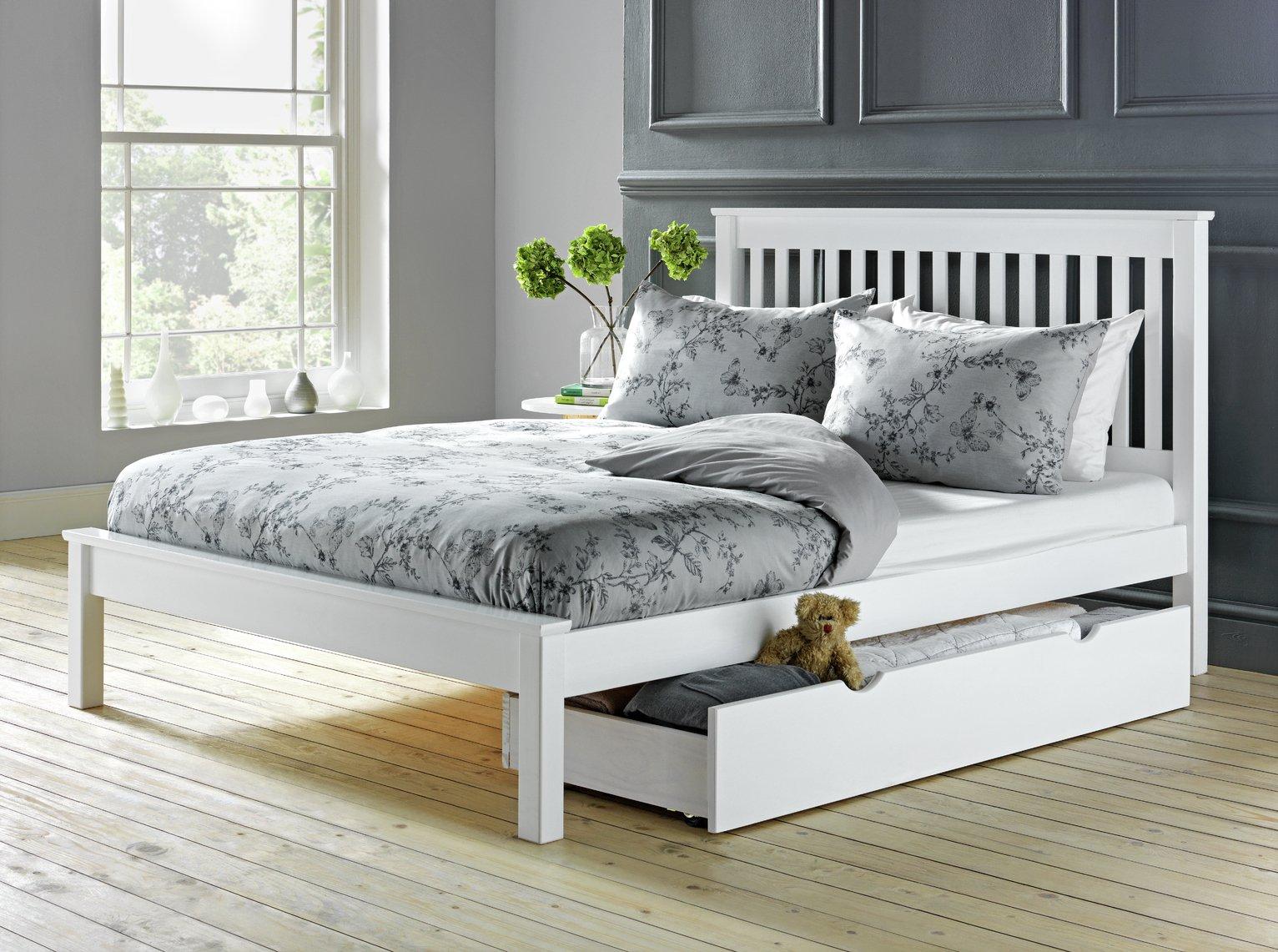 Buy Argos Home Aspley Kingsize Bed Frame White Bed Frames Argos