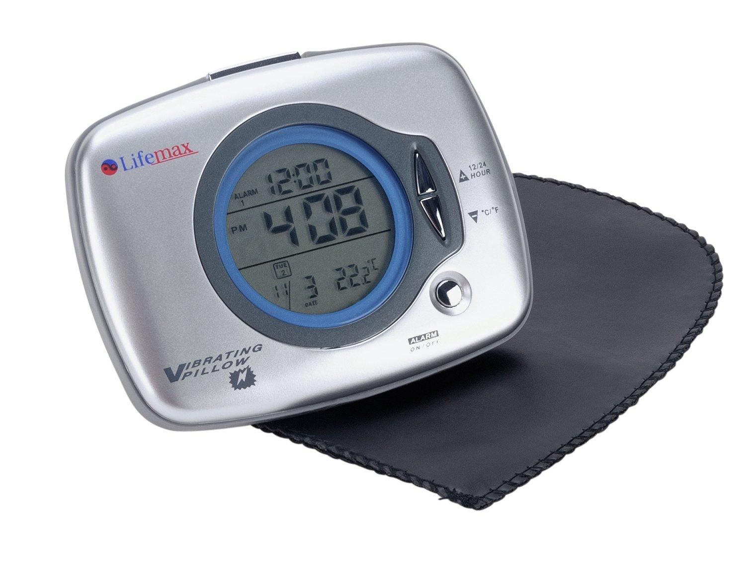 Buy Lifemax Under Pillow Vibration Alarm Clock Clocks Argos