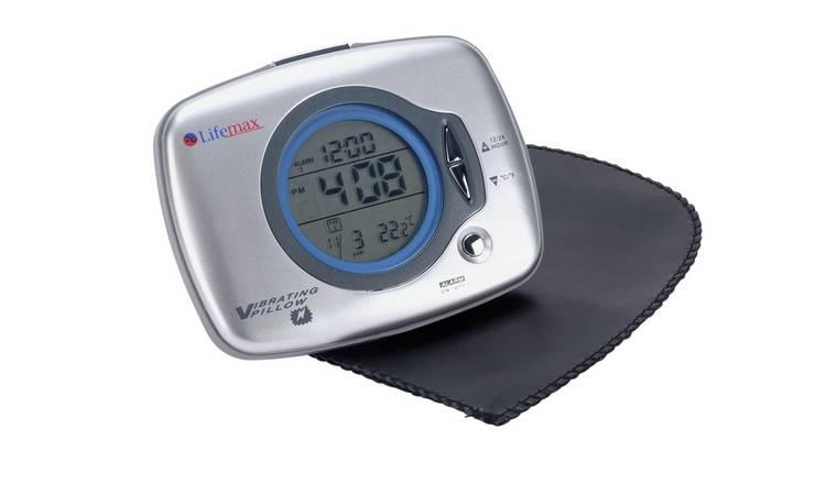 Buy Lifemax Under Pillow Vibration Alarm Clock | Clocks | Argos