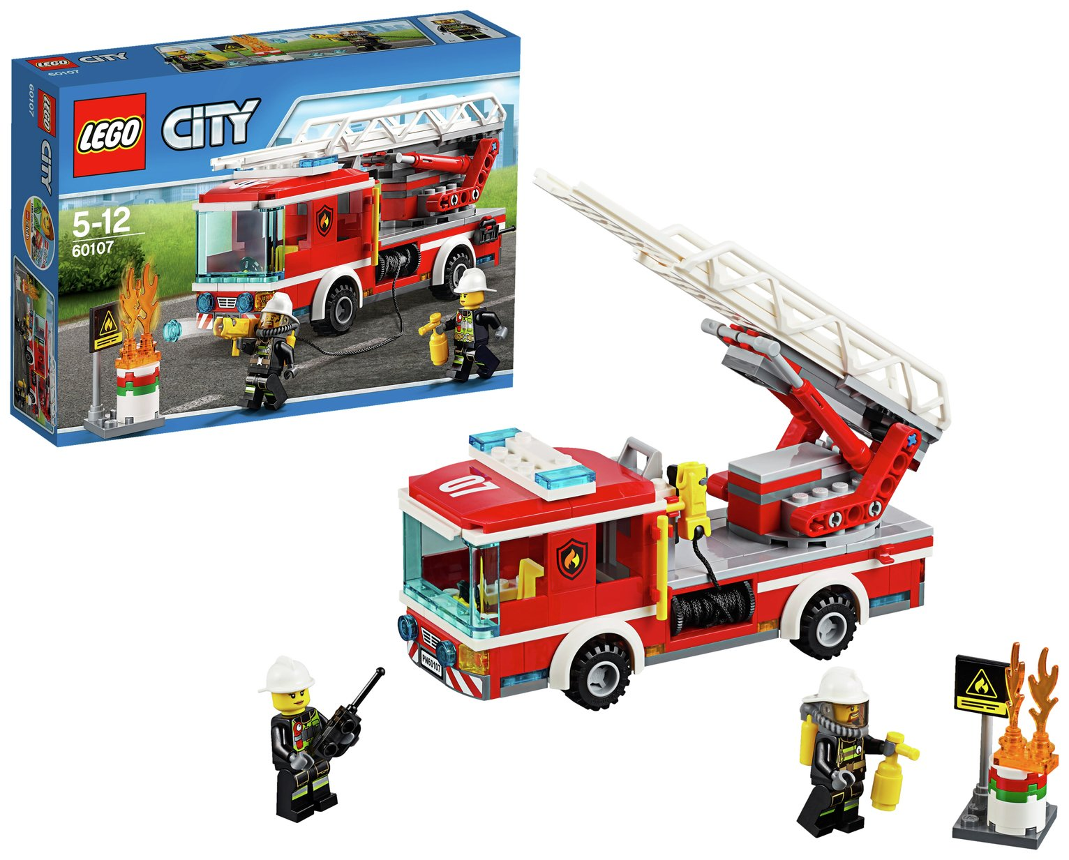 LEGO Fire Ladder Truck - 60107
