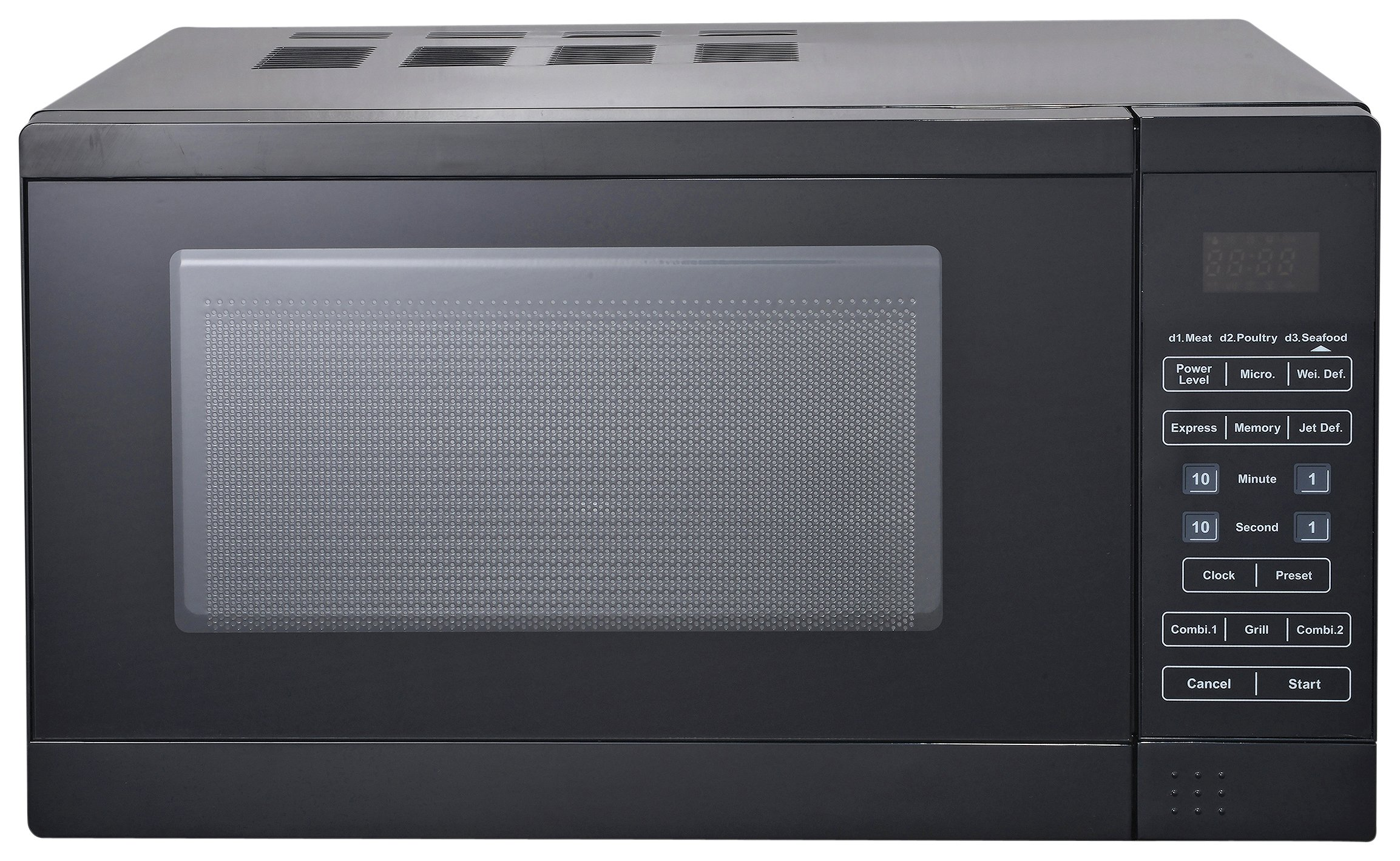 Morphy Richards 800W Grill Microwave D80D - Black