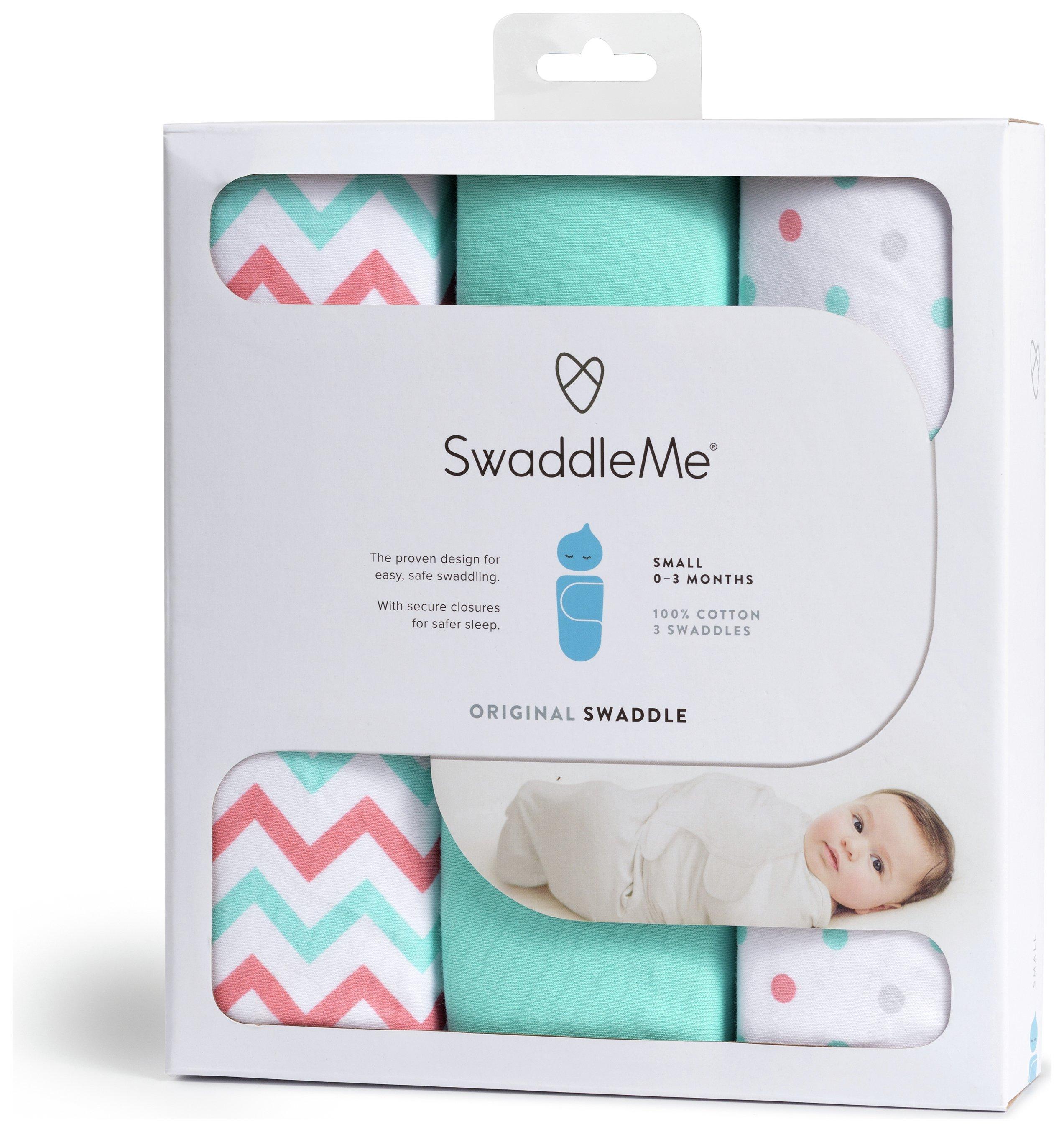 Image of Summer Infant - SwaddleMe - 3 Pack