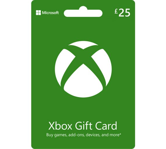 buy xbox live 25 gift card at your online. Black Bedroom Furniture Sets. Home Design Ideas