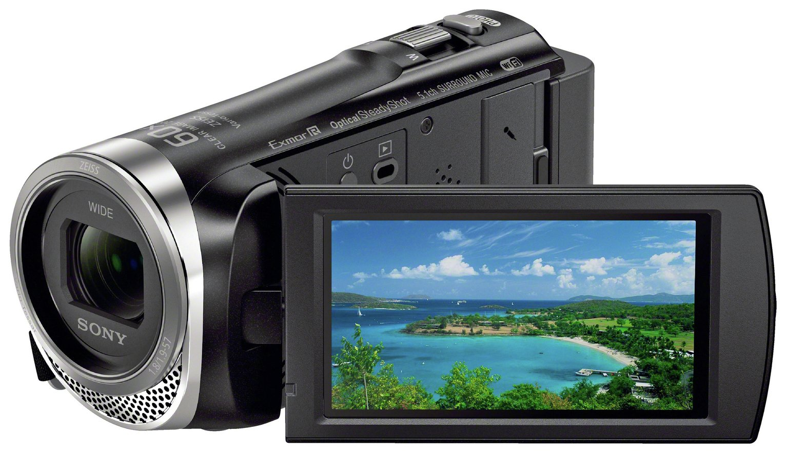 Sony HDR-CX450 1080p Camcorder - Black