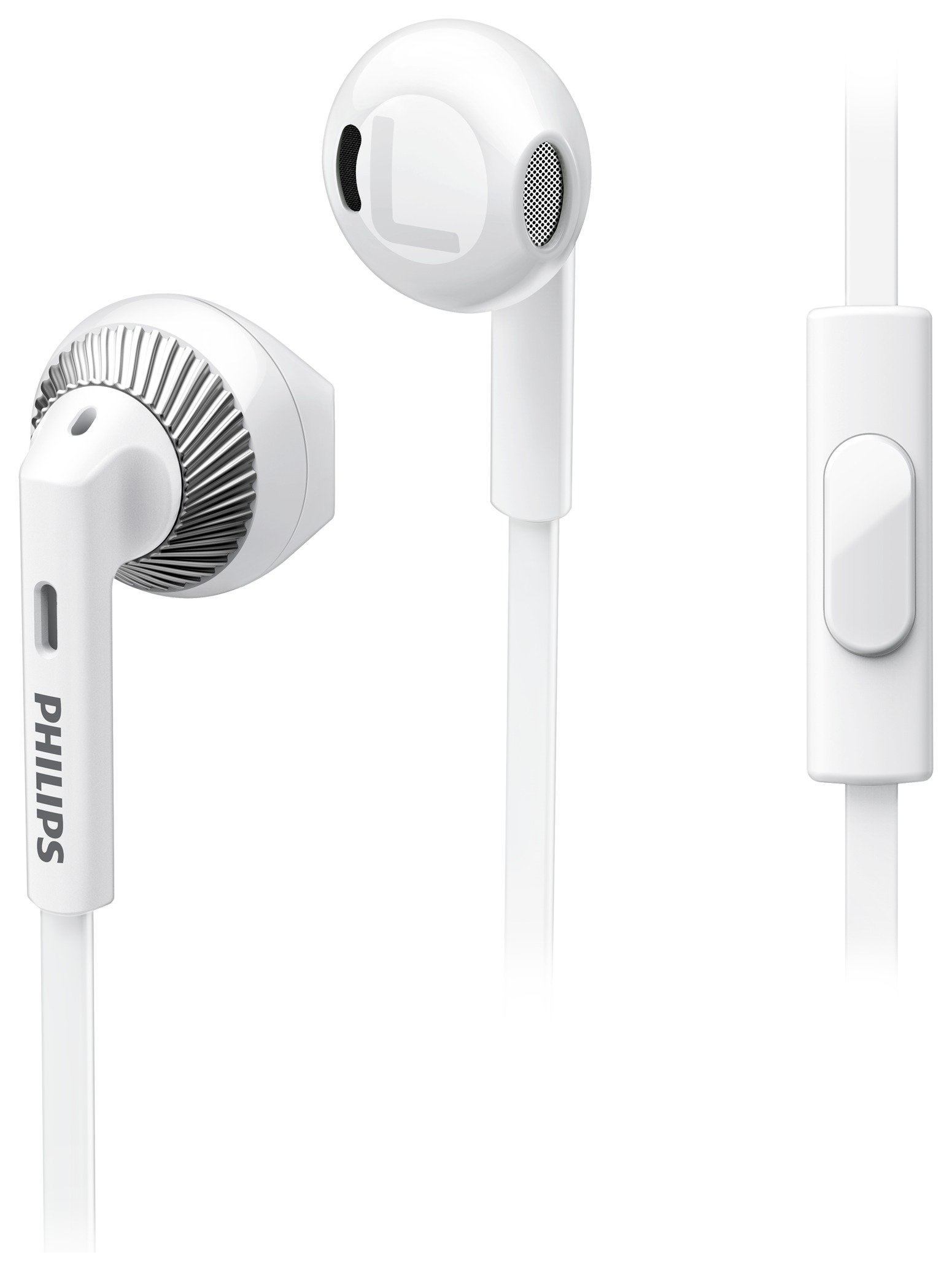 Philips Philips - SHE3205 In-Ear Headphones with Mic ? White