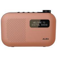 Alba - Mono DAB Radio - Orange