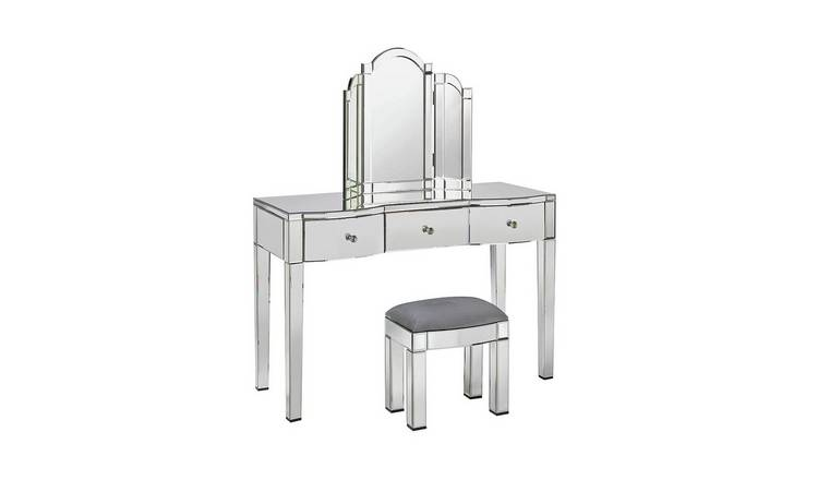 best authentic 775eb d0064 Buy Argos Home Canzano Mirrored 3 Drawer Dressing Table Set | Dressing  tables | Argos