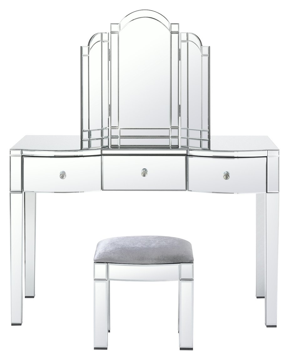 Argos Home Canzano 3 Drawer Mirrored Dressing Table Package
