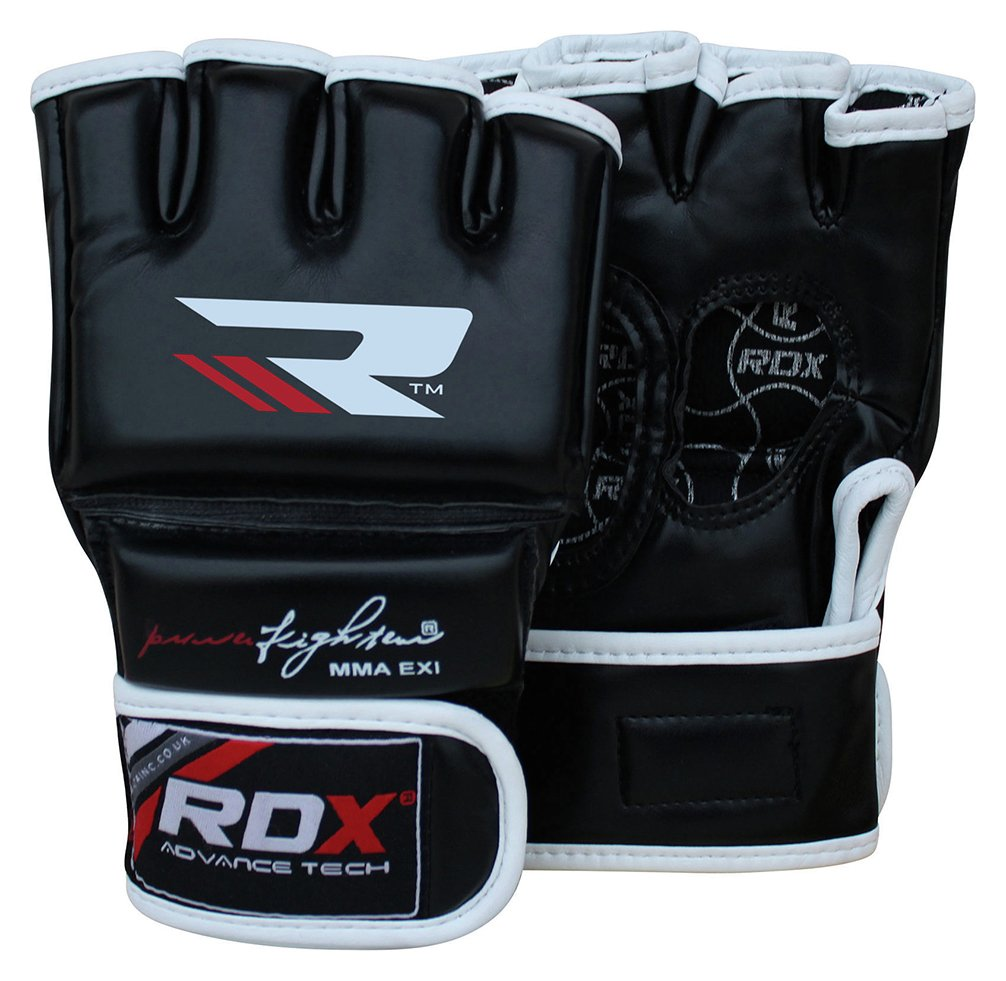 Driving gloves argos - Rdx Leather Adult Mma Gloves Medium Large Black