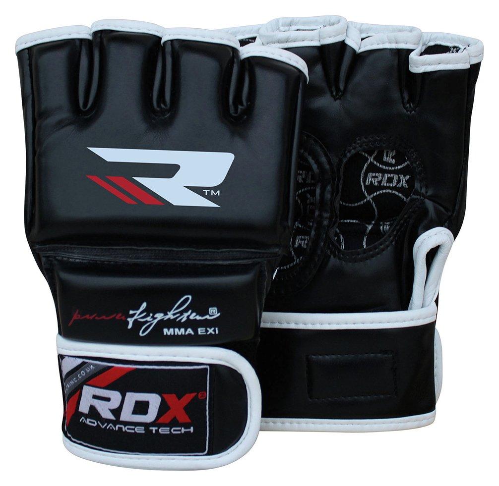 Driving gloves argos - Rdx Leather Adult Mma Gloves Medium Large Black