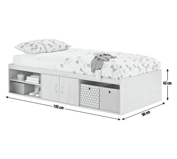 buy home declan cabin bed white at your. Black Bedroom Furniture Sets. Home Design Ideas