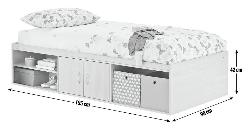 Buy Home Declan Cabin Bed White At Argos Co Uk Your