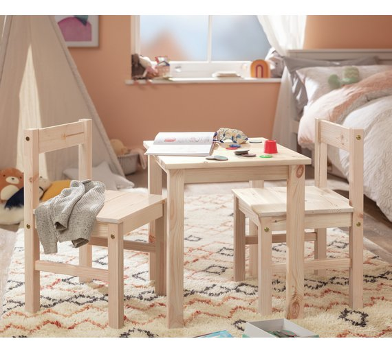 Argos Childrens Table And Chairs White: Buy Argos Home Kids Scandinavia Table And 2 Chairs