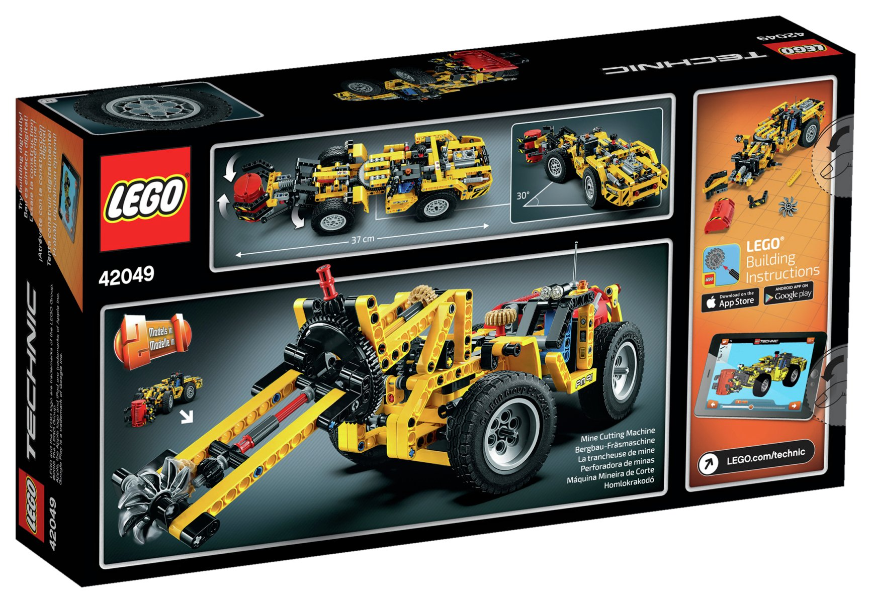 Buy LEGO Technic Mine Loader - 42049 at Argos.co.uk - Your Online ...