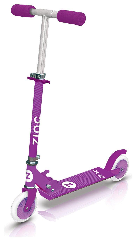 Buy Zinc Folding Inline Scooter Pink Scooters Argos