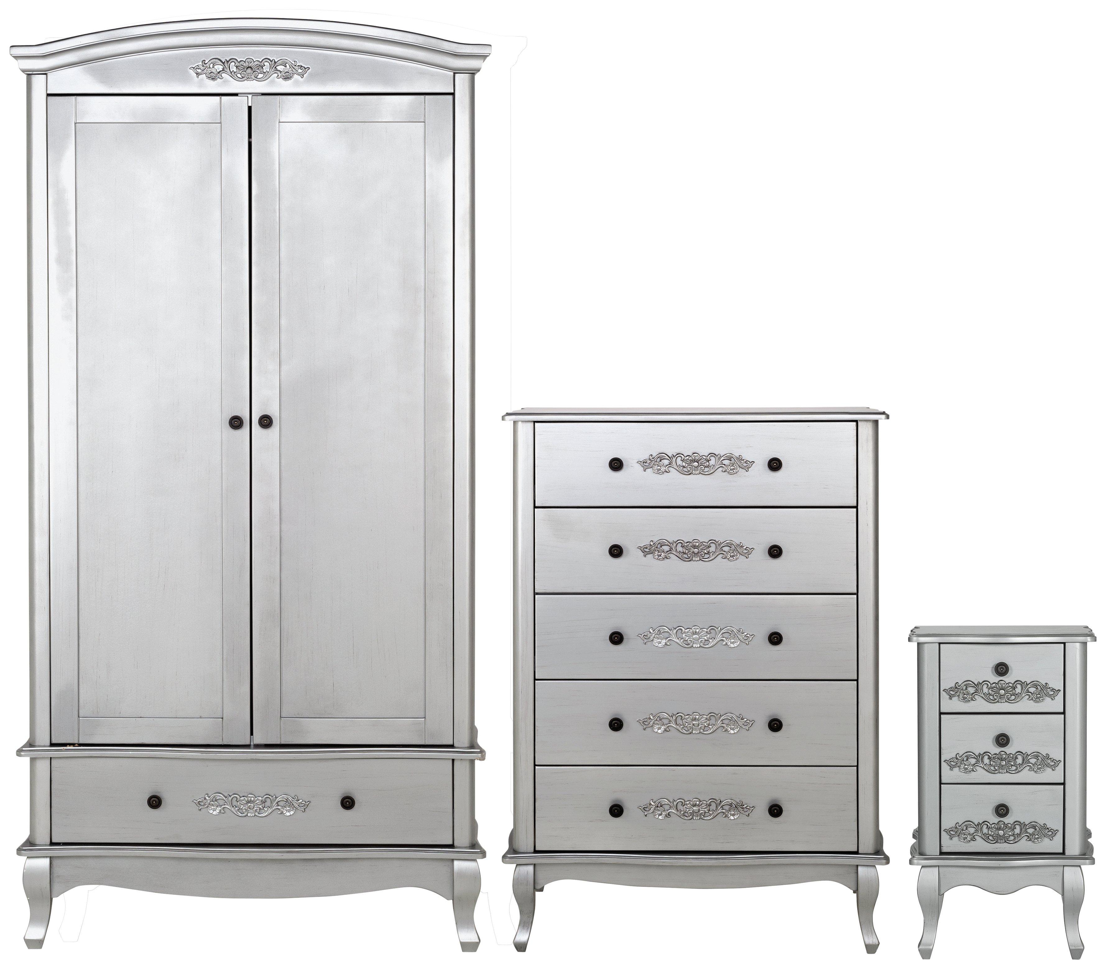 sale on argos home sophia 3 piece 2 door wardrobe package. Black Bedroom Furniture Sets. Home Design Ideas