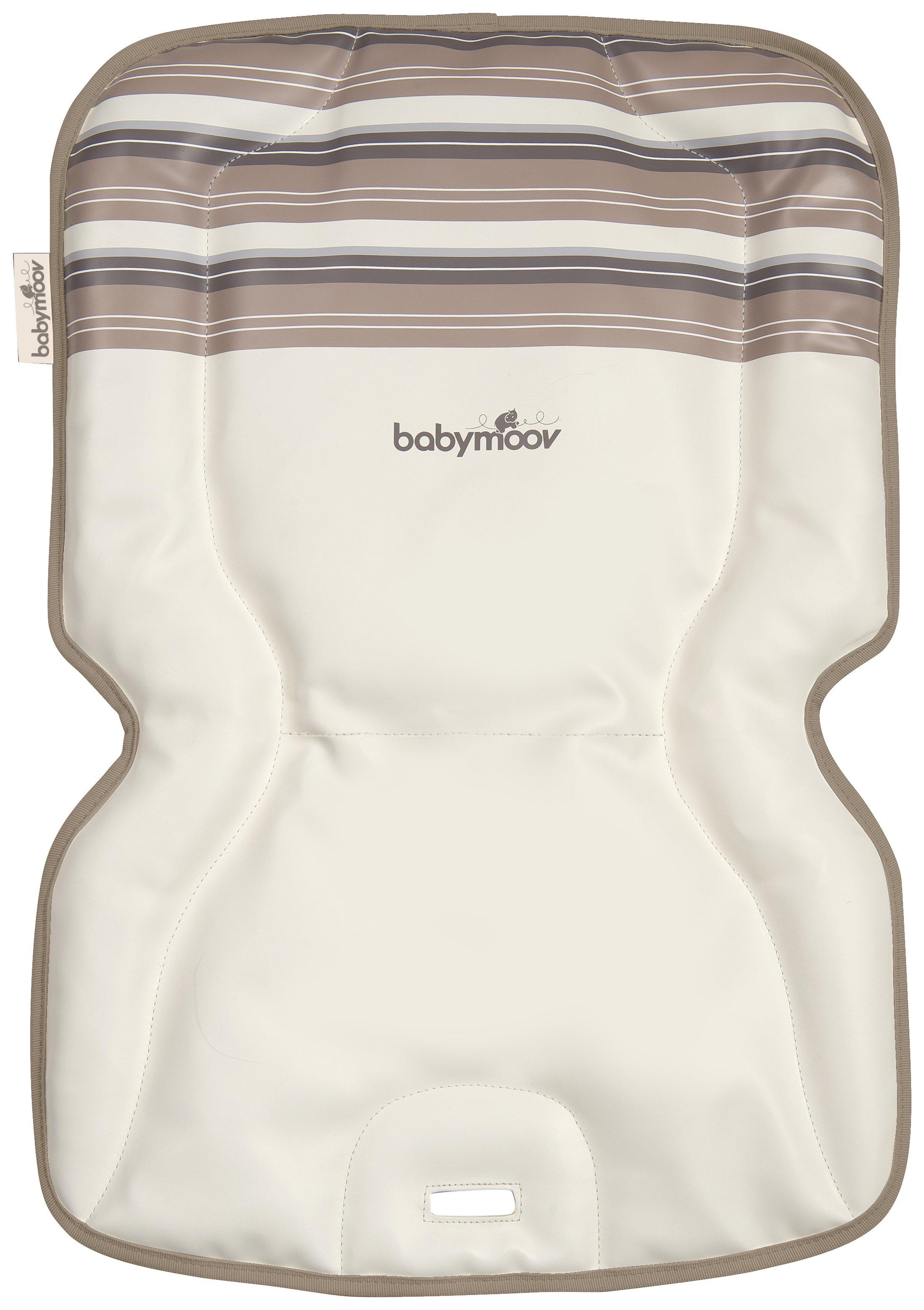 Image of Babymoov - Lightwood - Highchair Cushion - Stripe